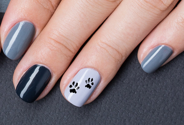 Bear Paw Nail Art Decals Moon Sugar Decals