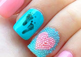 Baby Footprints Nail Decals