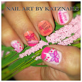 Breast Cancer Awareness Nail Decals Set #2