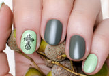 Celtic Cross Art Nail Art Decals Set #1