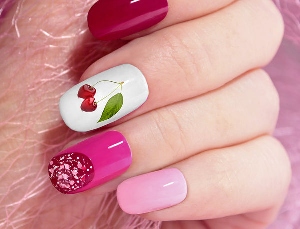 Cherries Nail Art Decals