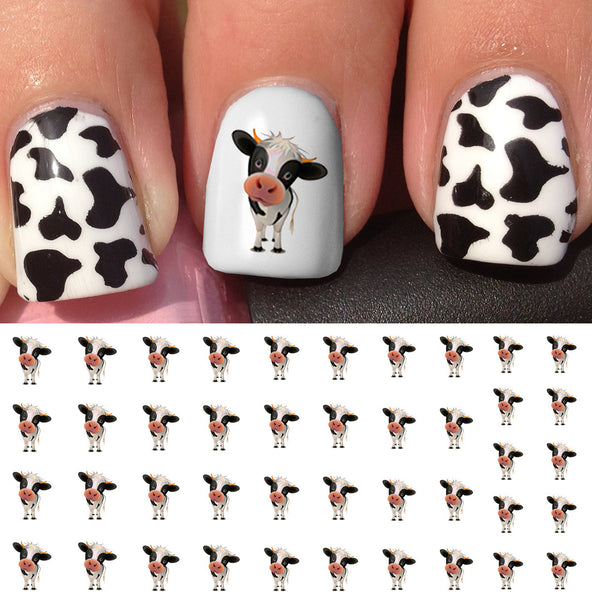 Cow Nail Decals