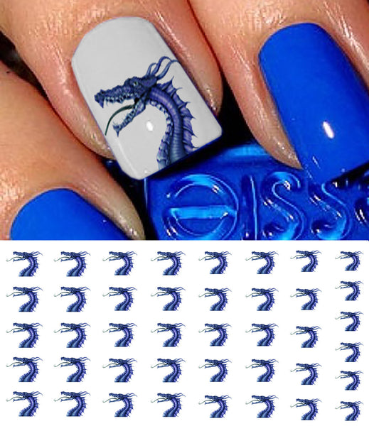 "Dragon Nail Decals - 40 decals (5 1/2"" x 3"" sheet)"