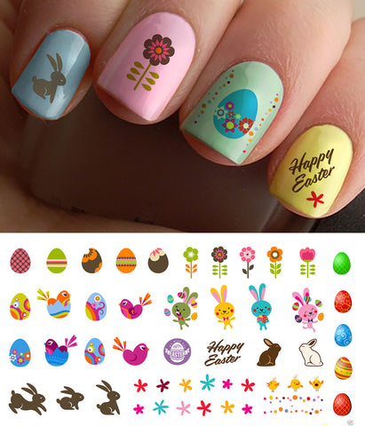Easter Decals Set #1