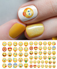 Emoji Nail Art Decals