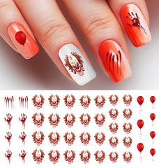 Skull Nail Decals Moon Sugar Decals