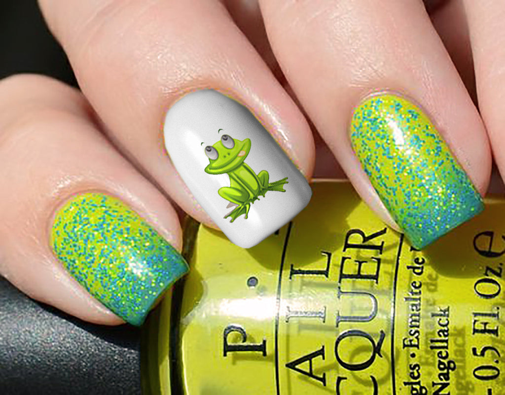 Frog Nail Art Decals – Moon Sugar Decals