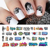 Graffiti Nail Art Decals Set #3