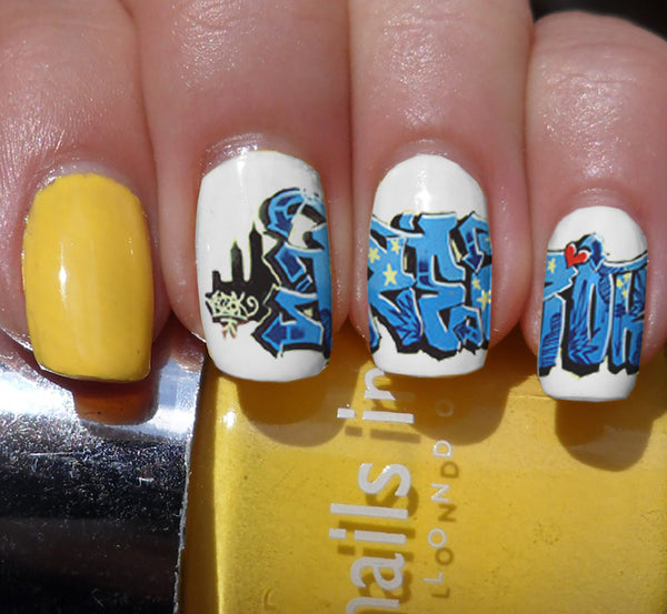 Graffiti Nail Art Decals Set #2