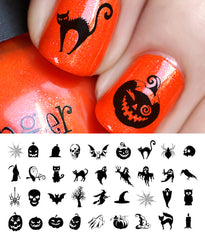 Halloween Nail Art Decals Set #2