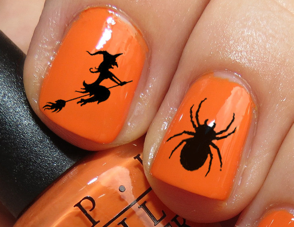 Halloween Nail Art Decals Set #3 – Moon Sugar Decals
