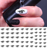 Racehorse Nail Art Decals Set #1