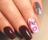 Valentine's Day Nail Art Decals Assortment #3