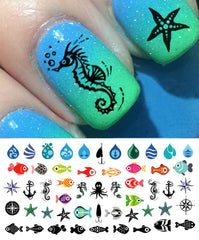 Nautical Nail Art Decals Set #1