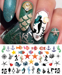 Nautical Nail Art Decals Set #2