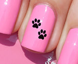 Paw Prints Nail Art Decals