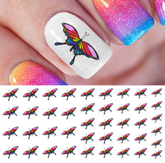Rainbow Nail Decals