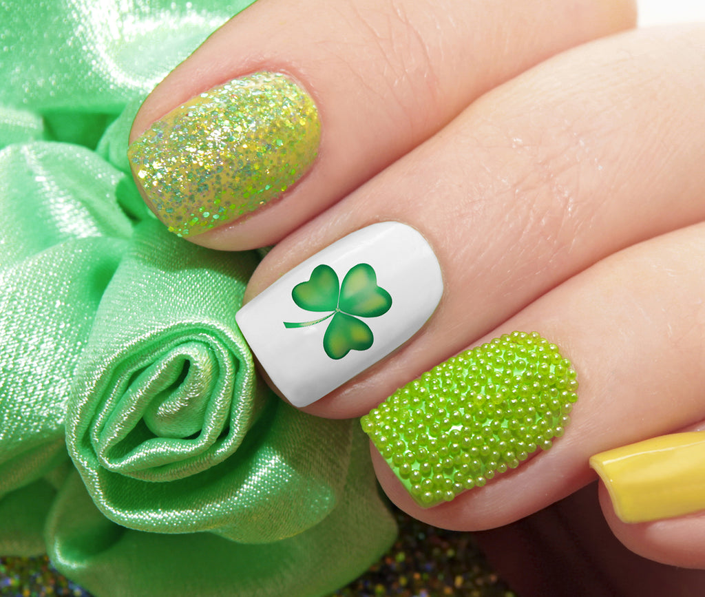St. Patrick\'s Day (Luck of the Irish) Nail Decals - 61 decals – Moon ...