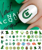 St. Patrick's Day Nail Art Decals #2
