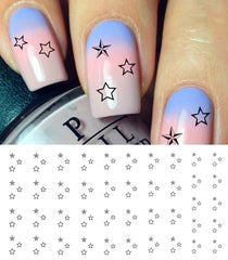 Star Cluster Nail Decals
