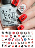 Las Vegas Casino Nail Art Decals
