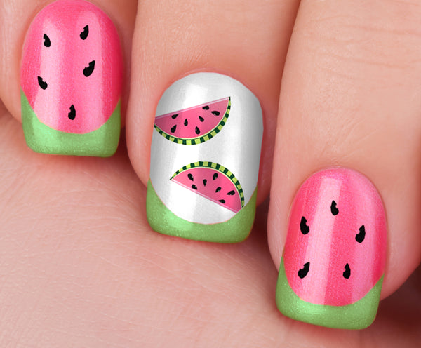 Summer Time Fun Nail Art Decals Set #1