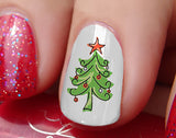 Christmas Nail Art Decals Set #6