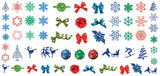 Christmas Nail Art Decals Set #5