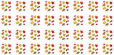 Autumn Leaves waterslide nail decals