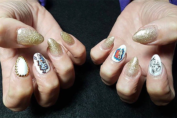 Graffiti Nail Art Decals Set #6