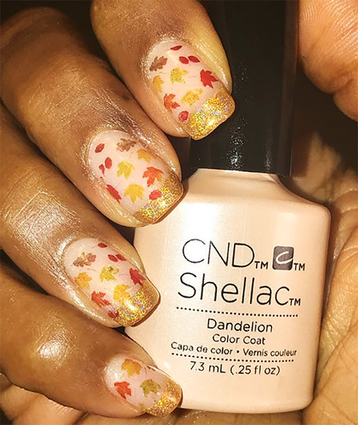 Autumn Leaves Nail Art Decals