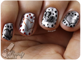 Heart Nail Decals (Gnarly Gnails)