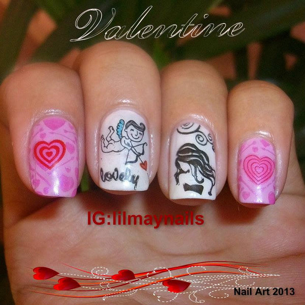 Valentine's Day Nail Decals (Lil May)