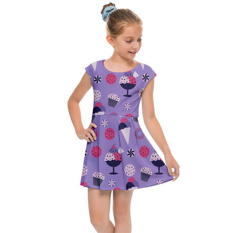 Kids' Cap Sleeve Dress
