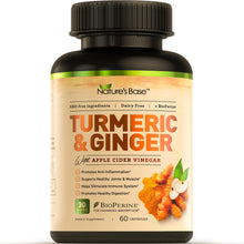 Load image into Gallery viewer, Turmeric Curcumin with Ginger