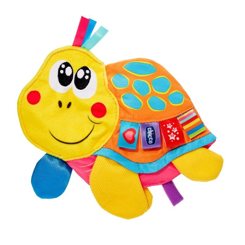 Chicco Baby Senses Molly Cuddly Turtle - Multi primary colours - Babanino