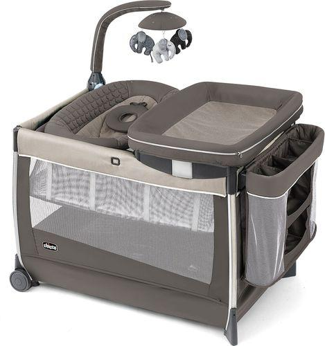 Chicco Lullaby Dream Cot - Latte - Babanino