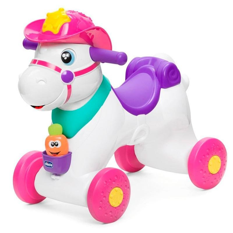 Chicco Move n Grow Miss Baby Rodeo - White with additional pink as primary colour - Babanino