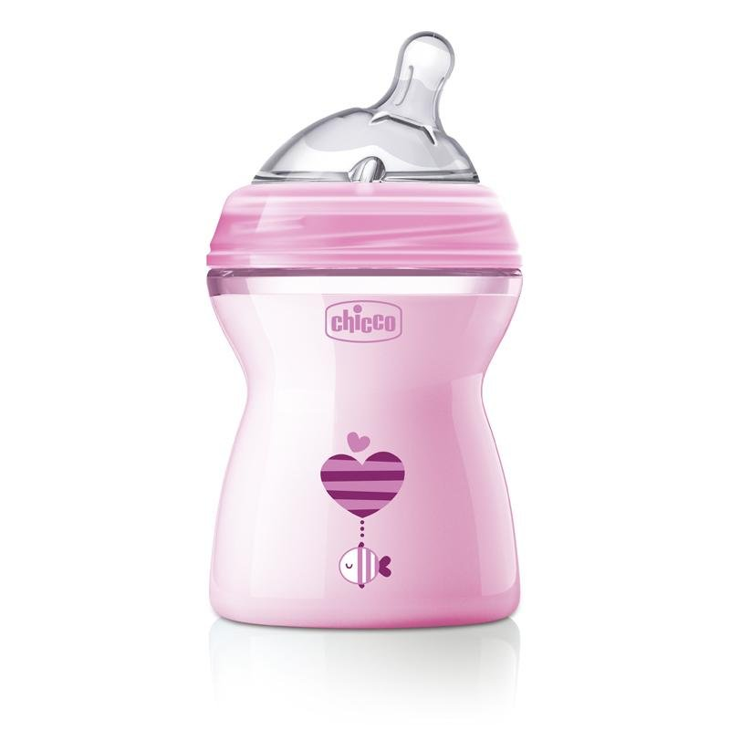 Chicco Natural Feeling Bottle – 2 Months - Babanino