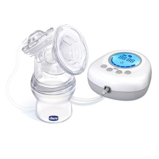 Chicco Naturally Me Electric Breast Pump - White and clear - Babanino