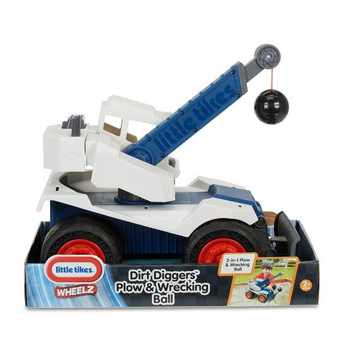 Little Tikes Dirt Diggers Plow & Wrecking Ball - Babanino