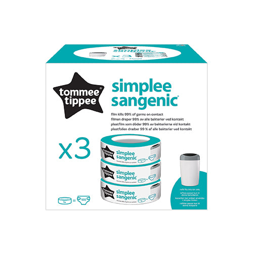 Tommee Tippee Simplee Sangenic Refill Cassettes