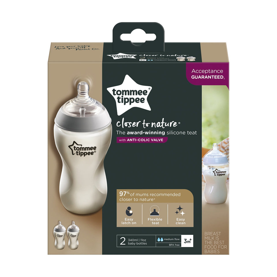 Tommee Tippee CTN 340ML BOTTLE - Babanino
