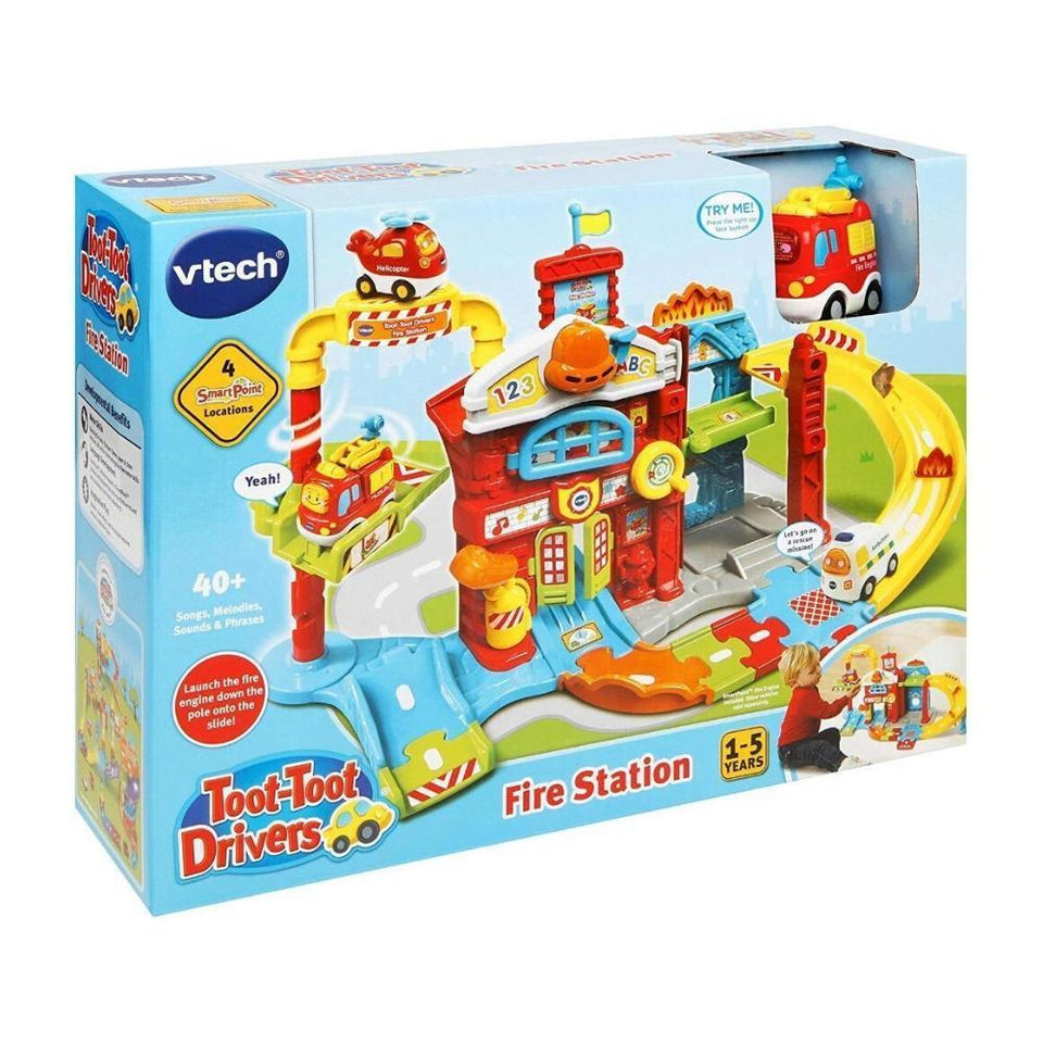 VTech Toot-Toot Drivers Fire Station - Babanino