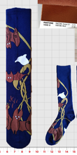 Load image into Gallery viewer, Three Of Bats Knee-high Socks
