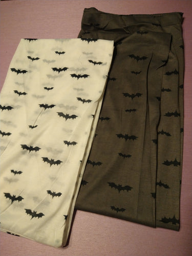Witch from the West Bat Print Jersey Infinity Scarf