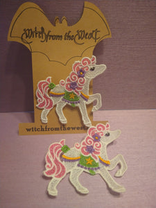 Horzion the Carnival Pony Brooch
