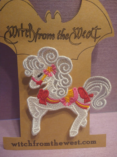 Witch from the West - Misty the Carnival Pony Brooch