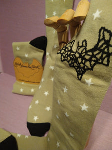 Twinkle Little Bat Knee High socks