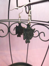 Load image into Gallery viewer, Embroidered Bat Earring / Save Our Bats